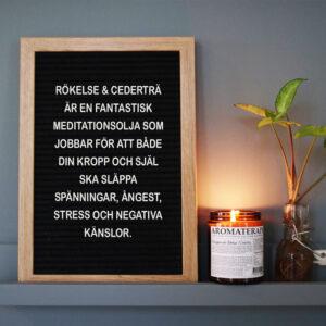 Aromaterapi RÖKELSE & CEDERTRÄ med skylt_1000x1000